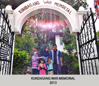 kundasang war memorial
