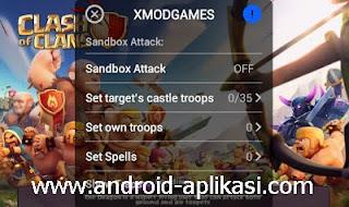 Cara Memasang Xmod Games di Clash of Clans Beserta Gambar