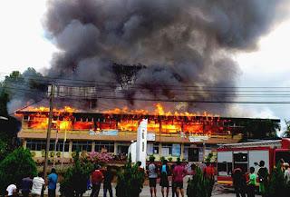 SMK Simanggang Terbakar