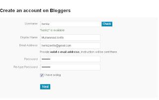 Daftar Bloggers