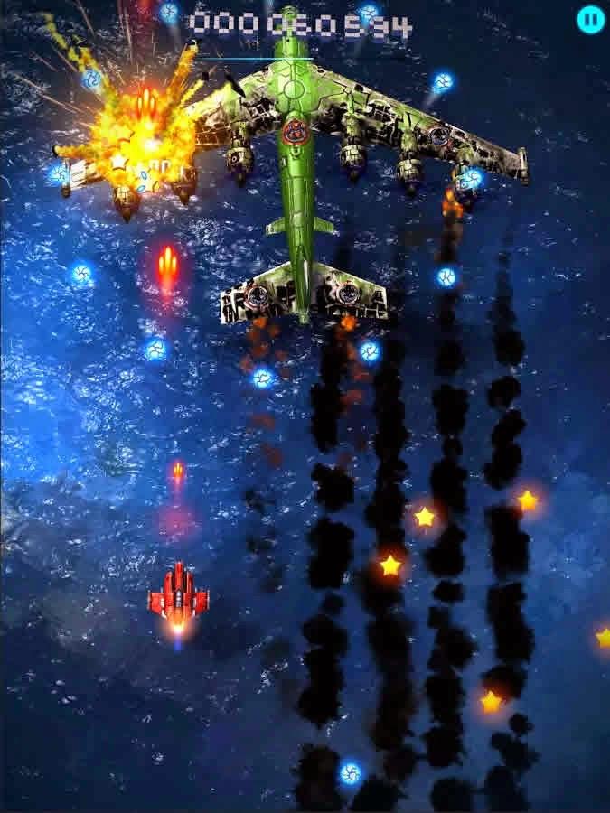 Sky Force 2014 Sınırsız Yıldız Hileli Mod Apk
