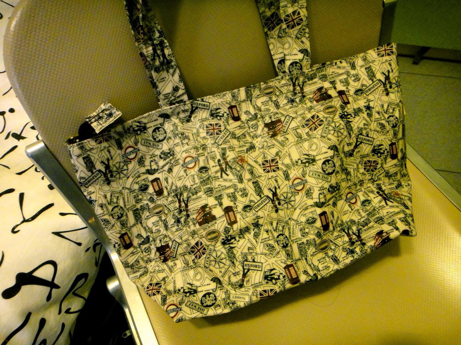 Made in Taiwan Bag at Raohe Night Market