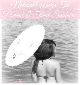 Sunfilled Days Are Here! Discover All-Natural Ways To Prevent & Treat Sunburn.