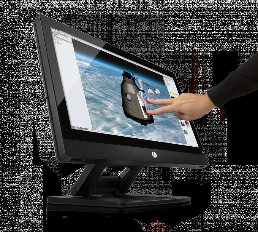 отличный дисплей моноблока HP Z1 G2