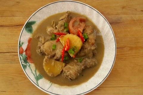 Resipi Ayam Masak Kurma