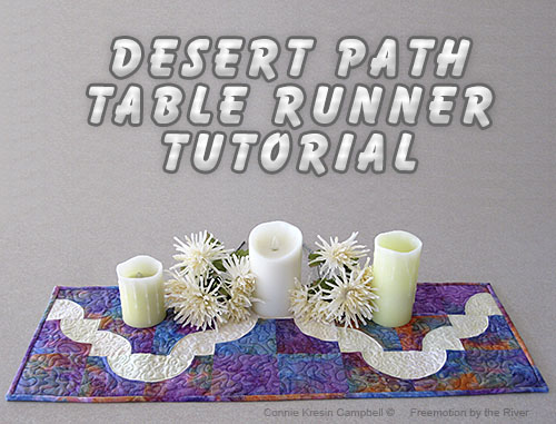 Desert Path Table Runner Tutorial