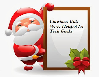 Christmas Gift: Wi-Fi Hotspot for Tech Geeks