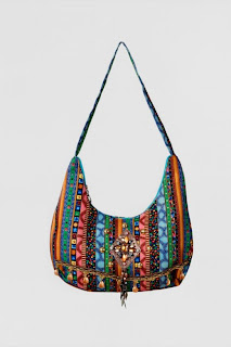 Cloth Embroidered Fancy Colorful Bag for Girls Beautiful Hand Bags for Girls