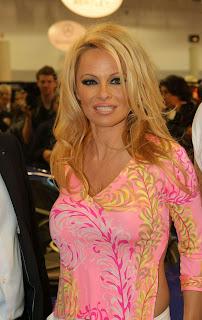 Pamela Anderson Pics, Marques Monaco Car Show