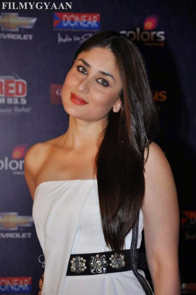 Kareena Kapoor Hot Pics in Black Mini Skirt