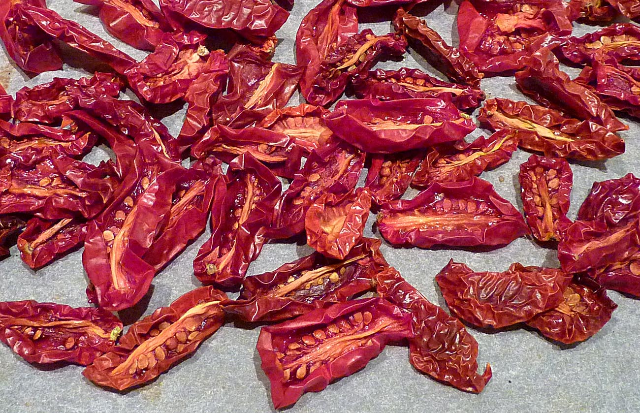 Living the life in Saint-Aignan: More oven-dried tomatoes ...