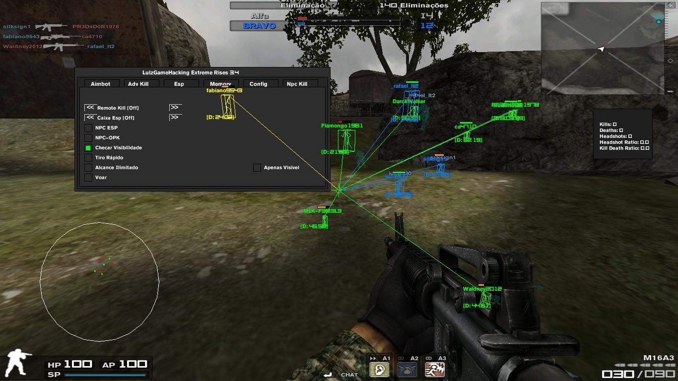 blzirif Combat Arms Hile Extreme Rise V3.4 Menülü Bot indir