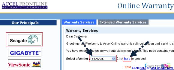 Seagate Warranty Claim Request1