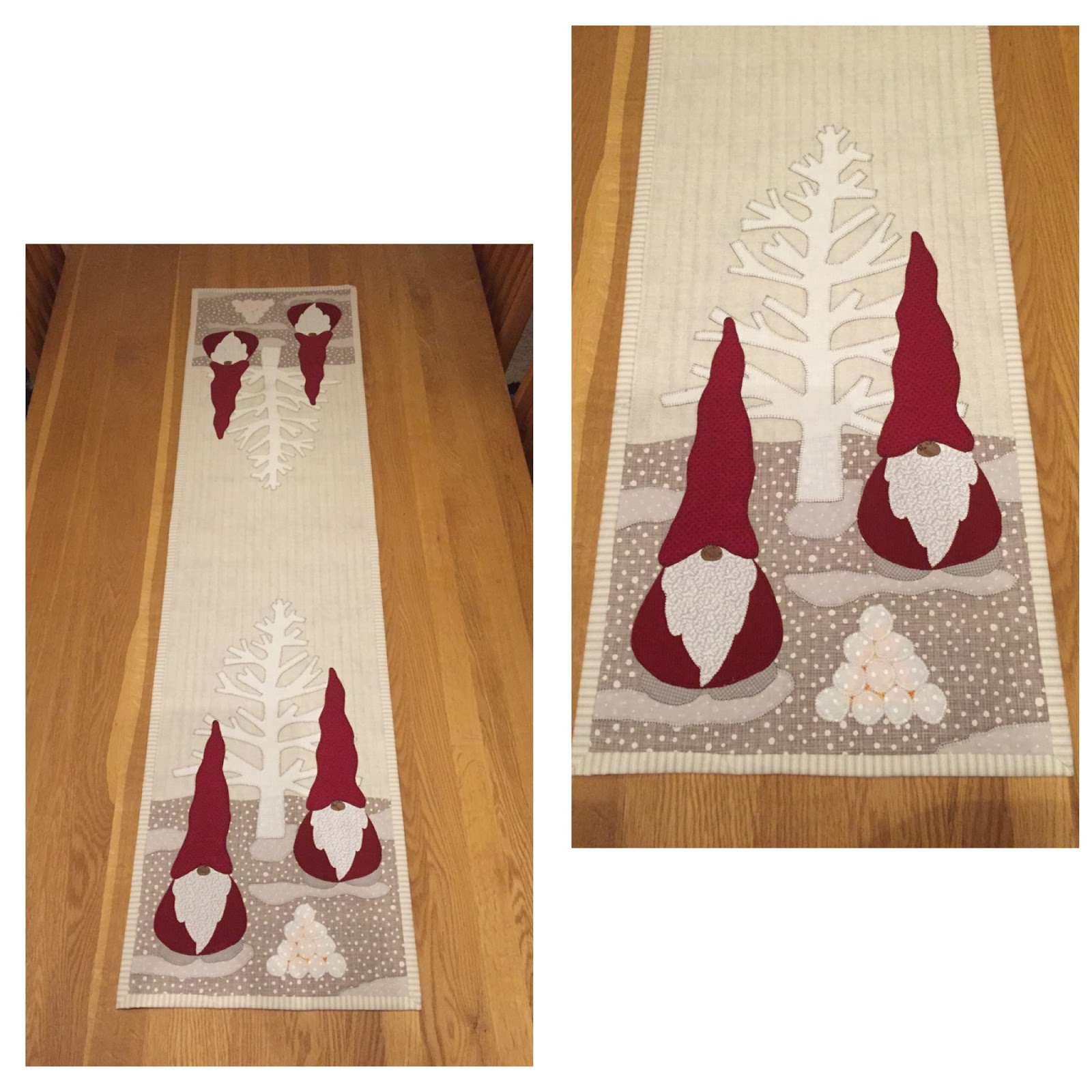christmas table runner quilt patterns