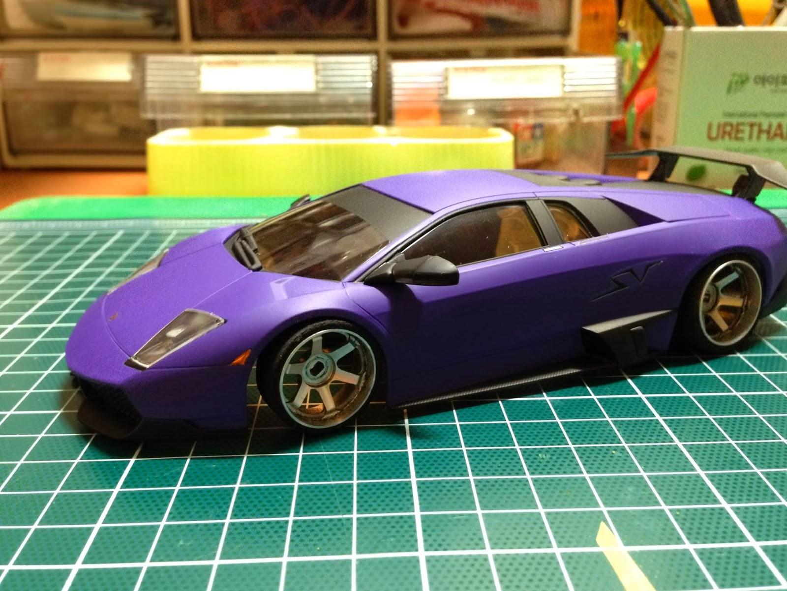 Kyoshosan Reader S Ride Custom Painted Lamborghini Sv