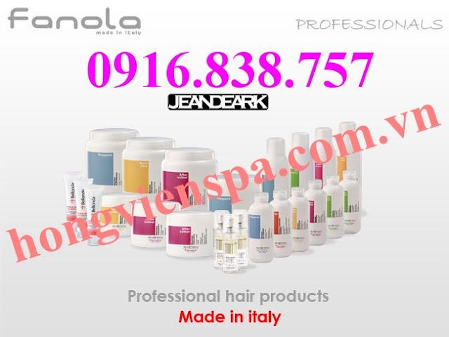 FANOLA - Bộ dầu gội, hấp dầu, tinh dầu dưỡng tóc hoàn hảo - Made in ITALY
