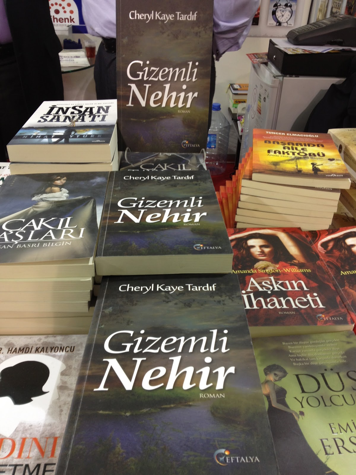 The teacher then went to the istanbul book fair, and tonight on