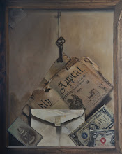 Old Picture Back Stow away Oil on Linen 16x20 2011