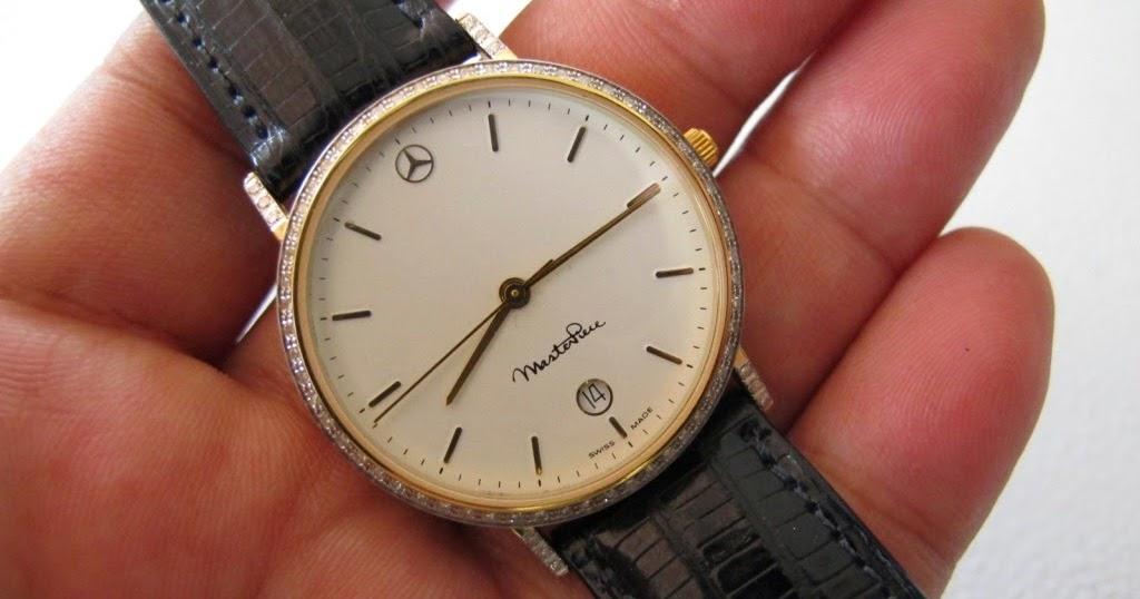Maximuswatches jual beli jam tangan second baru original for Mercedes benz 18k gold ring