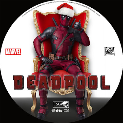 Label Bluray Deadpool