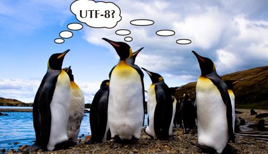 Menampilkan Text Jepang Dan Korea Dengan UTF-8