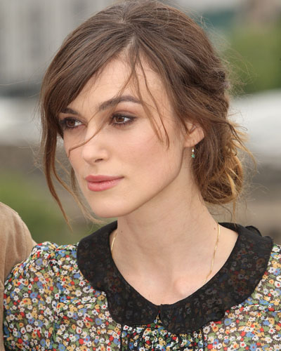 keira knightley hair color. keira knightley short hair.
