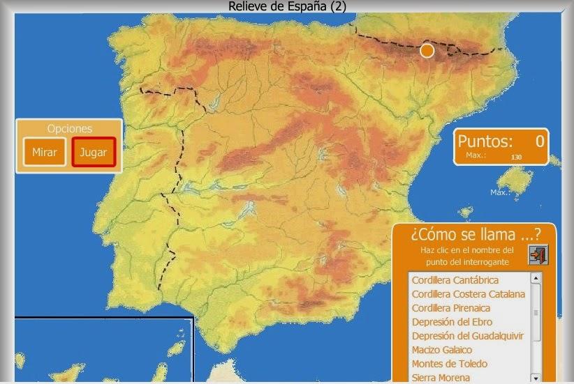 Relieve de España (2)