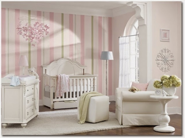 baby girl nursery room paint ideas