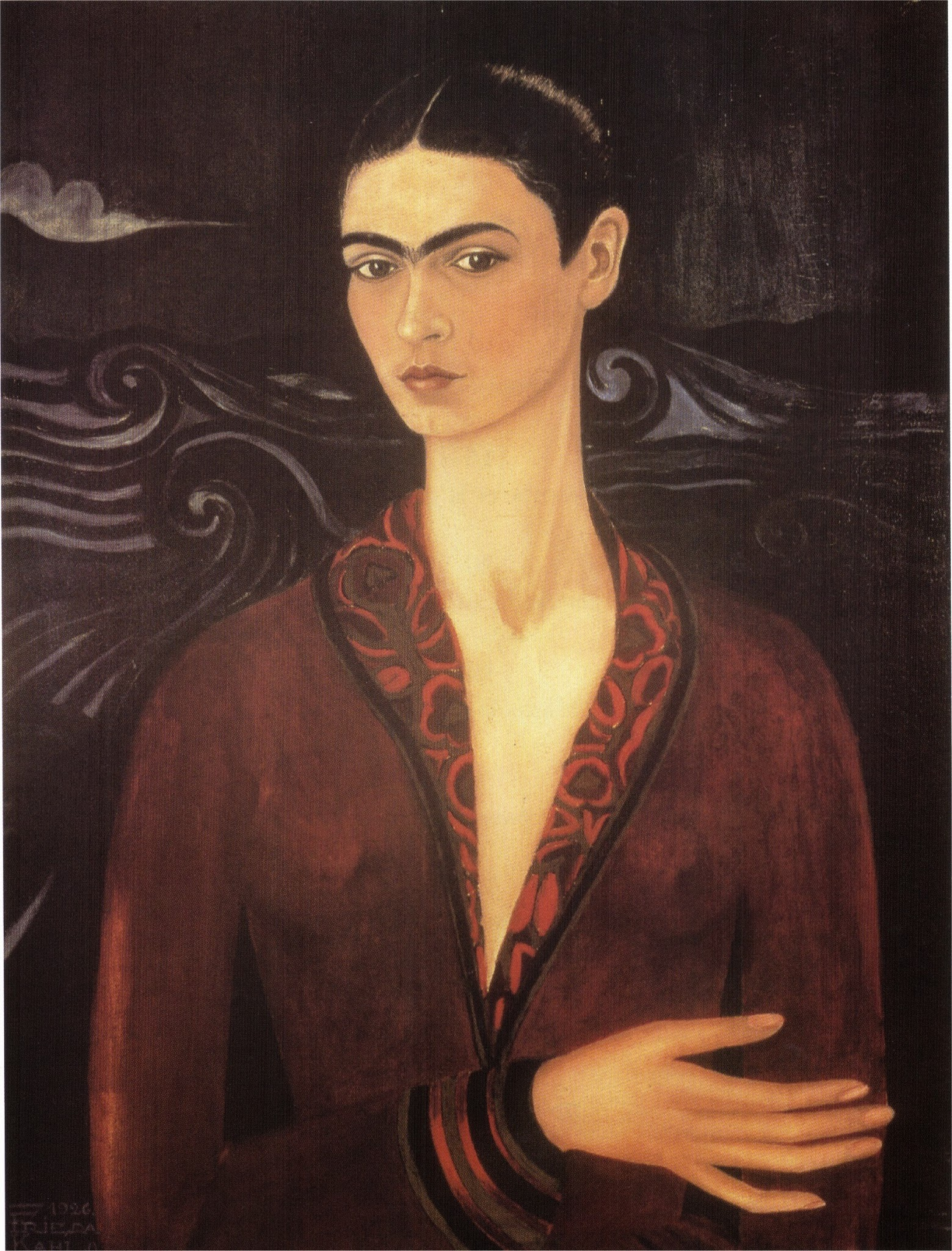 http://2.bp.blogspot.com/-zTHrtmnioGk/Ulgb48Wp1lI/AAAAAAAACdg/FfidI5Tiim0/s3200/Kalho+Frida+-+Self-portrait+in+a+velvet+dress+-+1926.jpg