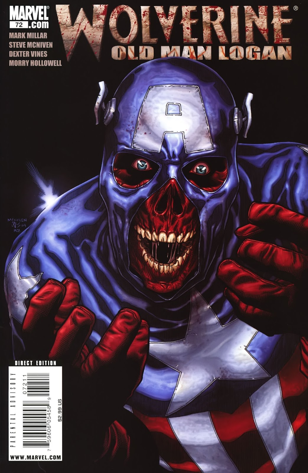 Read online Wolverine (2003) comic -  Issue #72 - 1