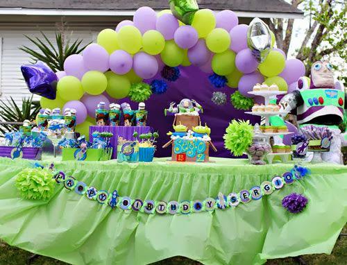 tema festa menino infantil aniversário buzz lightyear