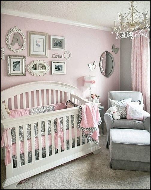 Pretty In Pink Baby Bedroom KIDS THEME