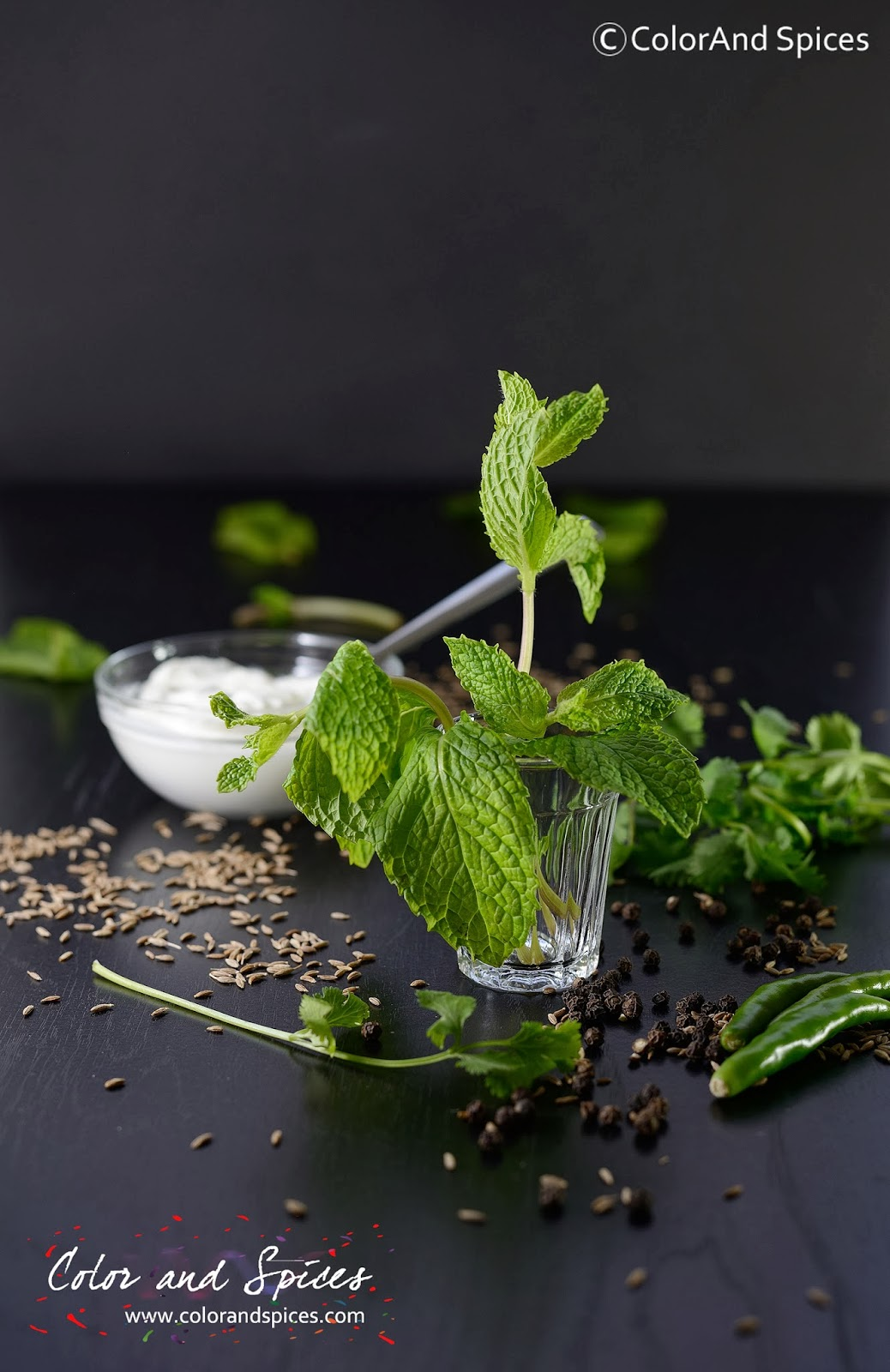 how to make the colour mint