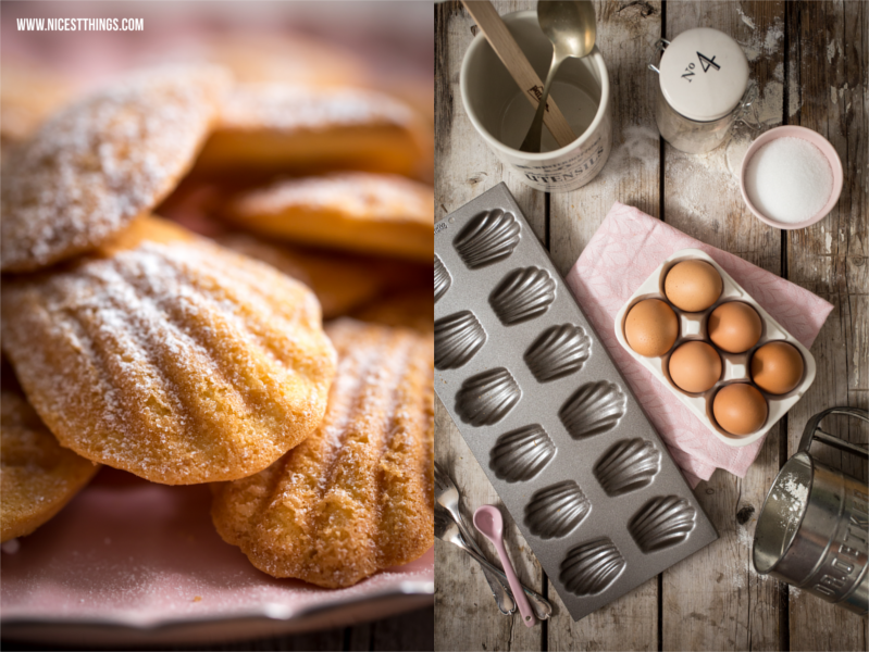 Dark and Moody Food Photography Madeleines Rezept Thermomix