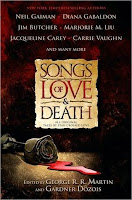 Cover of Songs of Love and Death edited by George R. R. Martin and Gardner Dozois
