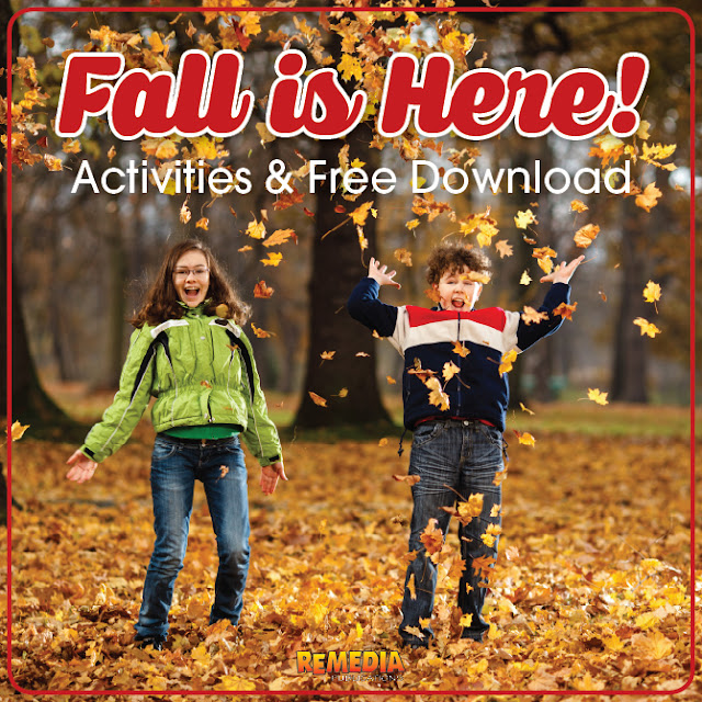 Fall is here! Activities and Free Download | Remedia Publications