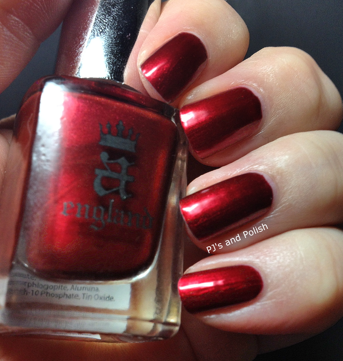 Swatch & Review A England Perceval HK Girl