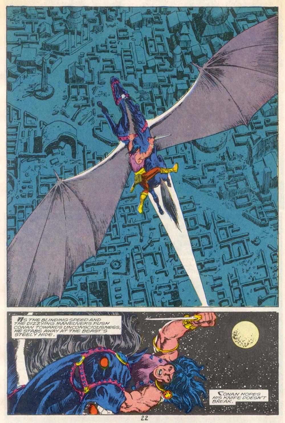 Conan the Barbarian (1970) Issue #209 #221 - English 17