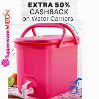 Buy Water Carriers 50% cashback  : Buy To Earn