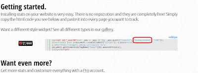 Cara Memasang widget whos.amung.us Tanpa JavaScript