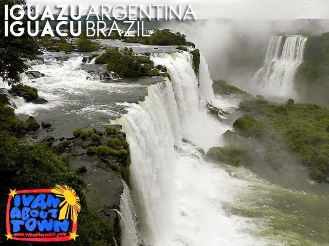 Iguazu / Iguaçu Falls in Argentina & Brazil