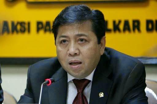 Setya Novanto Terpilih Ketua DPR RI