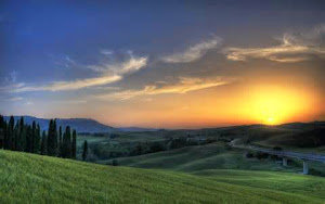 ~ TUSCANY SUNSET  ~