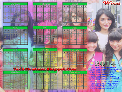 Download Kalender Tahun 2014