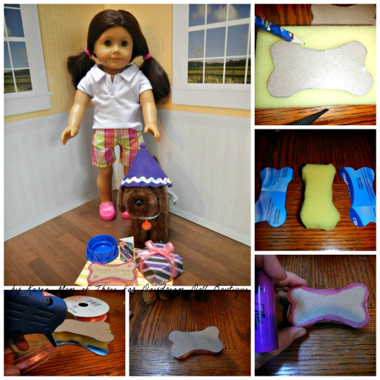 how to make an american girl doll pizza party set