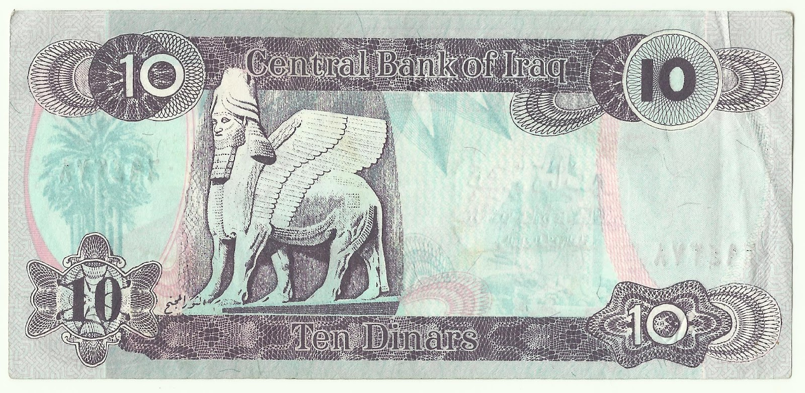 Coin Currency Collection Banknotes Iraq