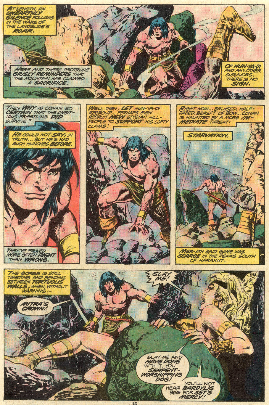 Conan the Barbarian (1970) Issue #79 #91 - English 11