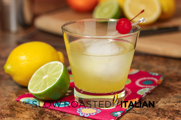 Limoncello splash cocktail for Cocktail limoncello