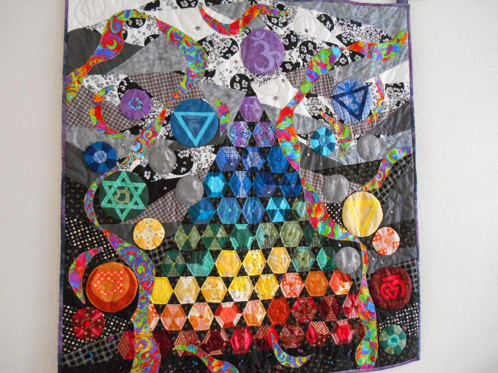 chakra quilt