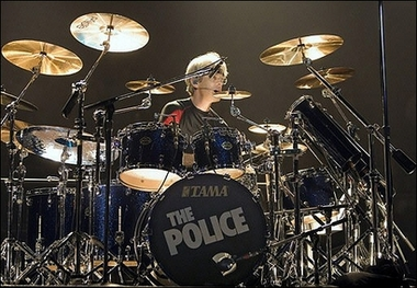 Stuart Copeland of The Police